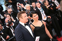 Actor Alec Baldwin and Hilaria Thomas attending the gala screening of the film Moonrise Kingdom at the 65th Cannes Film Festival. Wednesday 16th May 2012, the red carpet at Palais Des Festivals in Cannes, France.