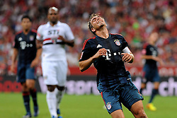 31.07.2013, Allianz Arena, Muenchen, Audi Cup 2013, FC Bayern Muenchen vs Sao Paulo, im Bild, Philipp LAHM (FC Bayern Muenchen) extrem unzufrieden mit dem Spiel // during the Audi Cup 2013 match between FC Bayern Muenchen and Sao Paulon at the Allianz Arena, Munich, Germany on 2013/07/31. EXPA Pictures © 2013, PhotoCredit: EXPA/ Eibner/ Wolfgang Stuetzle<br /> <br /> ***** ATTENTION - OUT OF GER *****
