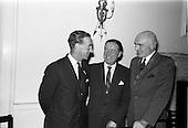 1963 - Mr Colm Barnes addressing Rotary Club at the Hibernian Hotel, Dublin