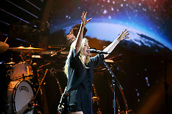 July 6, 2017 - Hamburg, Hamburg, Deutschland - Ellie Goulding beim Global Citizen Festival anlässlich des G20-Gipfel in der Barclaycard Arena. Hamburg, 06.07.2017 (Credit Image: © Future-Image via ZUMA Press)