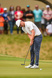 March 25, 2018 - Austin, TX, U.S. - AUSTIN, TX - MARCH 25: Alex Noren watches his putt during the semifinals match of the WGC-Dell Technologies Match Play on March 25, 2018 at Austin Country Club in Austin, TX. (Photo by Daniel Dunn/Icon Sportswire) (Credit Image: © Daniel Dunn/Icon SMI via ZUMA Press)