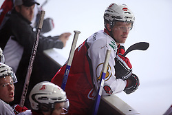 Edo Terglav, captain of Briancon at ice hockey match EHC Liwest BW Linz of Austria vs HC DR Briancon of France during Summer league R. Hiti,  on August 29, 2008 in Arena Bled, Bled, Slovenia.  (Photo by Vid Ponikvar / Sportal Images)