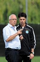 Markus Frei und Ciriaco Sforza beim Training. © Valeriano Di Domenico/EQ Images