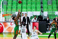 Jarrod Jones of KK Cedevita Olimpija during basketball match between KK Cedevita Olimpija (SLO) and Dolomiti Energia Trento (ITA) in Round #9 of Eurocup 2020/21, on December 8, 2020 in Arena Stozice, Ljubljana, Slovenia. Photo by Grega Valancic / Sportida