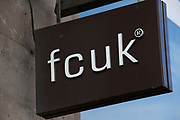 Sign for clothes shop fcuk.