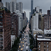 Fifth Avenue seen from Roosevelt Island tramway