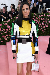 """Jennifer Connelly at the 2019 Costume Institute Benefit Gala celebrating the opening of """"Camp: Notes on Fashion"""".<br />(The Metropolitan Museum of Art, NYC)"""