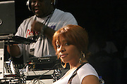 """Cherri Dennis at the Hip-Hop Summit's """"Get Your Money Right"""" Financial Empowerment International Tour draws hip-hop stars and financial experts to teach young people about financial literacy held at The Johnson C. Smith University's Brayboy Gymnasium on April 26, 2008..For the past three years, hip-hop stars have come out around the country to give back to their communities. Sharing personal stories about the mistakes they've made with their own finances along the way, and emphasizing the difference between the bling fantasy of videos and the realities of life, has helped young people learn the importance of financial responsibility while they're still young. With the recent housing market crash in the United States affecting the economy, jobs, student loans and consumer confidence, young people are eager to receive sound financial advice on how to best manage their money and navigate through this volatile economic environment.."""