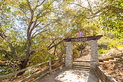 Welcome Arch to Trail to Eagle at Niguel Botanical Preserve