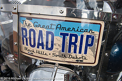 The journey begins. Road Trip - Michael's first image of the annual Sturgis Black Hills Motorcycle Rally.  SD, USA.  August 6, 2016.  Photography ©2016 Michael Lichter.