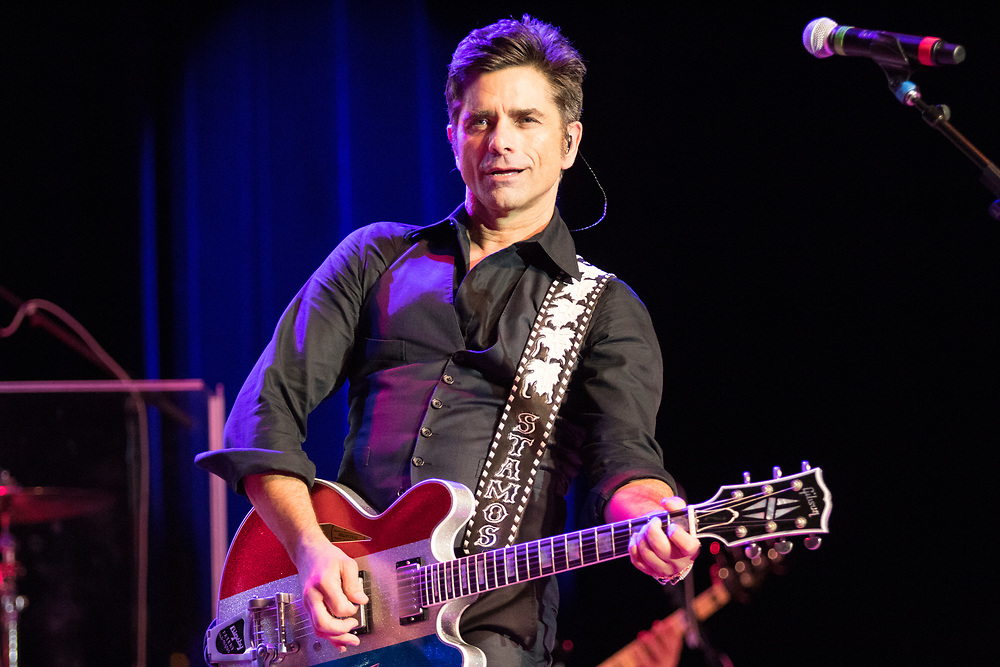 John Stamos performs with The Beach Boys at the Ravinia Festival on August 24, 2018.