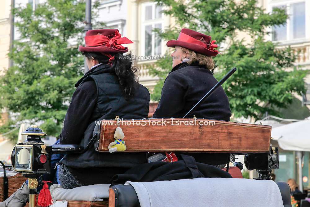 Horse and Carriage Ride Krakow Poland