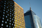 Edificios en Santiago de Chile.