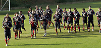 Fotball / Football<br /> Tyskland - Germany<br /> FC Köln training at La Manga - Spain<br /> 05-14.01.2007<br /> Foto: Morten Olsen, Digitalsport<br /> <br /> GERMANY OUT<br /> <br /> Köln players doing the warm up