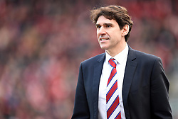Middlesbrough Manager Aitor Karanka - Mandatory by-line: Paul Knight/JMP - Mobile: 07966 386802 - 16/01/2016 -  FOOTBALL - Ashton Gate Stadium - Bristol, England -  Bristol City v Middlesbrough - Sky Bet Championship