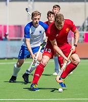 ANTWERPEN -  Scotland-England . Belfius Eurohockey Championship (men) hockey. Sam Ward (Eng)    COPYRIGHT KOEN SUYK