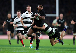 New Zealand's Waisake Naholo in action during the Autumn International match at Twickenham, London.