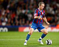 Football<br /> Carling Cup Second Round <br /> Shaun Derry of Crystal Palace<br /> Crystal Palace v Manchester City at Selhurst Park Stadium, London 27/08/2009 Credit Colorsport / Kieran Galvin