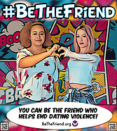 Be The Friend Mural 2