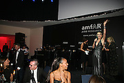 Sharon Stone conducting the auction, Amfar's Inaugural Cinema Against Aids. Spazio Etoile. Rome. 26 October 2007. SUPPLIED FOR ONE-TIME USE ONLY> DO NOT ARCHIVE. © Copyright Photograph by Dafydd Jones . 248 Clapham Rd. London SW9 0PZ. 0208 820 0771.  www.dafjones.com