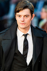 © Licensed to London News Pictures. 16/10/2016. London, UK. SAM RILEY attends the film premiere of Free Fire showing at The London Film Festival. Ray Tang/LNP