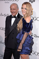 Fawaz Gruosi, Rita Ora attending the de Grisogono party ahead the 70th Cannes Film Festival, at Eden Roc Hotel in Antibes, France on May 23, 2017. Photo Julien Reynaud/APS-Medias/ABACAPRESS.COM
