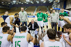 Sasa Doncic, coach of Ilirija during basketball match between KK Ilirija and KK Petrol Olimpija in 10th Round of Nova KBM Basketball League 2017/18, on December 17, 2017 in Hala Tivoli, Ljubljana, Slovenia. Photo by Vid Ponikvar / Sportida