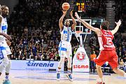 DESCRIZIONE : Campionato 2014/15 Serie A Beko Dinamo Banco di Sardegna Sassari - Giorgio Tesi Group Pistoia<br /> GIOCATORE : Jerome Dyson<br /> CATEGORIA : Tiro Tre Punti<br /> SQUADRA : Dinamo Banco di Sardegna Sassari<br /> EVENTO : LegaBasket Serie A Beko 2014/2015 <br /> GARA : Dinamo Banco di Sardegna Sassari - Giorgio Tesi Group Pistoia<br /> DATA : 01/02/2015 <br /> SPORT : Pallacanestro <br /> AUTORE : Agenzia Ciamillo-Castoria/C.Atzori <br /> Galleria : LegaBasket Serie A Beko 2014/2015