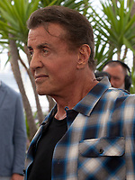 Sylvester Stallone at Rambo V: Last Blood film photo call at the 72nd Cannes Film Festival, Friday 24th May 2019, Cannes, France. Photo credit: Doreen Kennedy