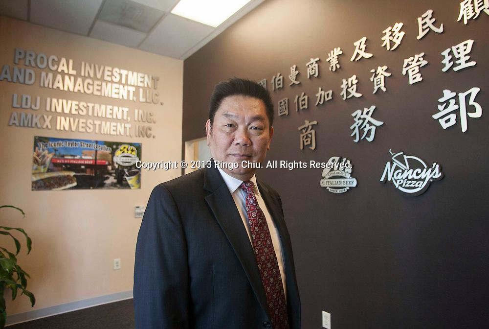 John Tu, President of Pro Management Consultants. (Photo by Ringo Chiu/PHOTOFORMULA.com)