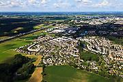 Nederland, Overijssel, Deventer, 30-06-2011; de wijk Colmschate QQQ..luchtfoto (toeslag), aerial photo (additional fee required).copyright foto/photo Siebe Swart