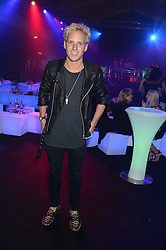 JAMIE LAING at a party to celebrate the 1st birthday of nightclub 2&8 at Mortons held in Berkeley Square, London on 3rd October 2013.