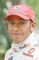 File photo dated 21-06-2007 of Formula 1 racing driver Lewis Hamilton