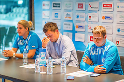 Press conference of RK Krim Mercator before season 2016/2017, on August 17, 2016 in Ljubljana, Slovenia. Photo by Ziga Zupan / Sportida