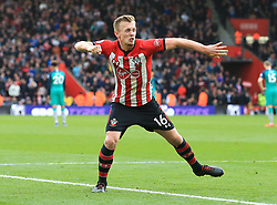 Southampton's James Ward-Prowse celebrates scoring his side's second goal of the game with team-mates