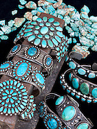 Indian jewelry, Turquoise Museum, Albuquerque, New Mexcio, Route 66