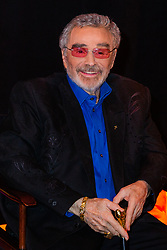 April 6, 2018 - Boca Raton, Florida, U.S. - Legendary actor BURT REYNOLDS is all smiles for the media while waiting backstage at the 2018 Palm Beach Film Festival Student Showcase of Film. The festival was held at the Wold Theater on the Lynn University Campus in Boca Raton. (Credit Image: © Joe Forzano/The Palm Beach Post via ZUMA Wire)