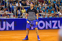 Carlos Moya (ESP) during exhibition match at 26. Konzum Croatia Open Umag 2015, on July 22, 2015, in Umag, Croatia. Photo by Urban Urbanc / Sportida