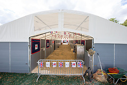 Stables England<br /> Alltech FEI World Equestrian Games™ 2014 - Normandy, France.<br /> © Hippo Foto Team - Leanjo de Koster<br /> 25/06/14