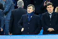Watford owner Gino Pozzo looks on from the Directors Box. Premier league match, Everton vs Watford at Goodison Park in Liverpool, Merseyside on Sunday 5th November 2017.<br /> pic by Chris Stading, Andrew Orchard sports photography.