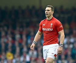 George North of Wales<br /> <br /> Photographer Simon King/Replay Images<br /> <br /> Six Nations Round 3 - Wales v England - Saturday 23rd February 2019 - Principality Stadium - Cardiff<br /> <br /> World Copyright © Replay Images . All rights reserved. info@replayimages.co.uk - http://replayimages.co.uk