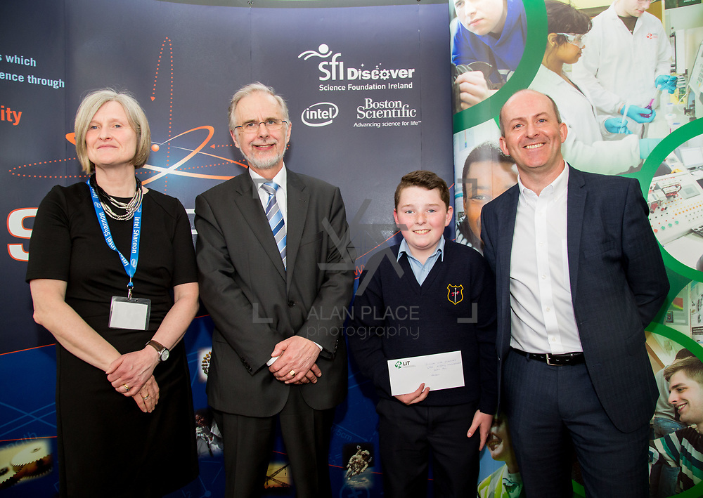 27.04.2016.          <br />  Kalin Foy and Ciara Coyle win SciFest@LIT<br /> Kalin Foy and Ciara Coyle from Colaiste Chiarain Croom to represent Limerick at Ireland's largest science competition.<br /> <br /> <br /> <br /> Of the over 110 projects exhibited at SciFest@LIT 2016, the top prize on the day went to Kalin Foy and Ciara Coyle from Colaiste Chiarain Croom for their project, 'To design and manufacture wireless trailer lights'. The runner-up prize went to a team from John the Baptist Community School, Hospital with their project on 'Educating the Youth of Ireland about Farm Safety'. Picture: Alan Place