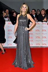 Charlotte Hawkins attending the National Television Awards 2018 held at the O2 Arena, London. PRESS ASSOCIATION Photo. Picture date: Tuesday January 23, 2018. See PA story SHOWBIZ NTAs. Photo credit should read: Matt Crossick/PA Wire