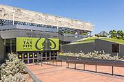 La Brea Tar Pits Museum Entrance in Los Angeles
