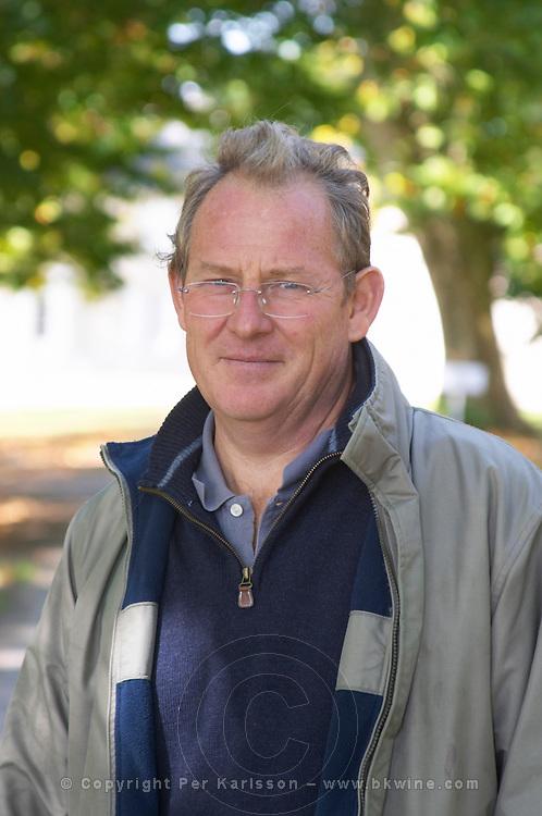 Bernard Lamaud, manager and winemaker chateau la dauphine fronsac bordeaux france