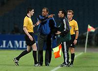 Fotball<br /> VM-kvalifisering<br /> Polen v Aserbaijan / Azerbaijan<br /> Foto: Wrofoto/Digitalsport<br /> NORWAY ONLY<br /> <br /> Carlos Alberto Torres - trener Aserbaijan