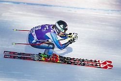 18.01.2013, Olympia delle Tofane, Cortina d Ampezzo, ITA, FIS Weltcup Ski Alpin, Abfahrt, Damen, 1. Training, im Bild Laurenne Ross (USA) // Laurenne Ross of the USA in action during 1st practice of the ladies Downhill of the FIS Ski Alpine World Cup at the Olympia delle Tofane course, Cortina d Ampezzo, Italy on 2013/01/18. EXPA Pictures © 2013, PhotoCredit: EXPA/ Johann Groder