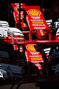 May 25-29, 2016: Monaco Grand Prix. Ferrari front wings