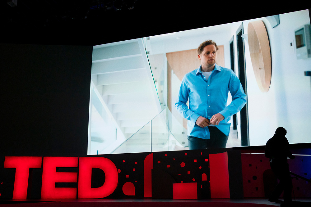 Smart Home video at TED2019: Bigger Than Us. April 15 - 19, 2019, Vancouver, BC, Canada. Photo: Bret Hartman / TED