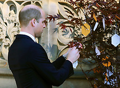 Duke of Cambridge at Manchester terror attack anniversary - 22 May 2018
